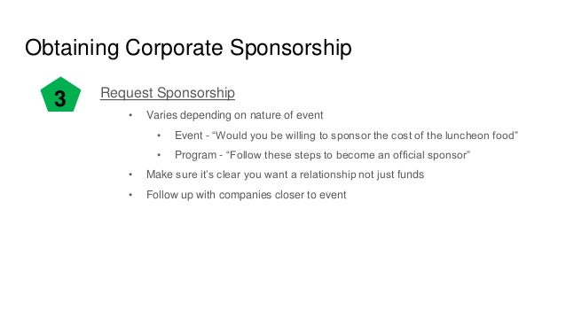 Corporate sponsorship for Fishing sponsorship application