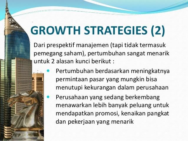 CONCENTRATION  Jika sebuah lini produk perusahaan mengalami potensi pertumbuhan nyata, maka mengkonsentrasikan seluruh su...