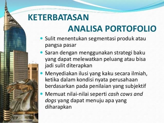 MENGELOLA PORTOFOLIO ALIANSI YANG STRATEGIS  Pengembangan dan penerapan strategi portofolio digunakan untuk tiap-tiap bis...