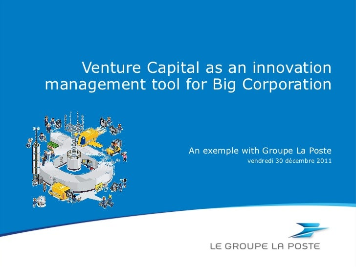 Venture Capital as an innovation management tool for Big Corporation An exemple with Groupe La Poste