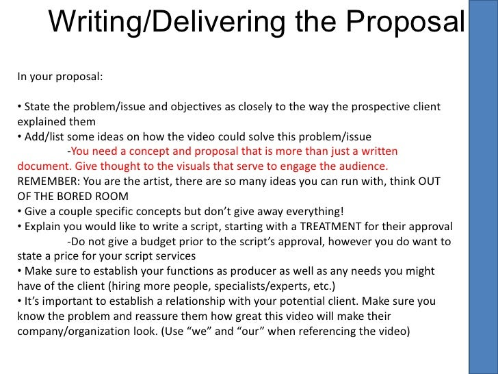 Videography Proposal Template Acurnamedia