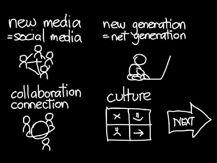 new media, new generation Slide 2