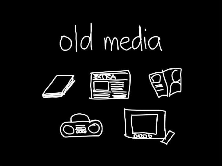 new media, new generation Slide 3