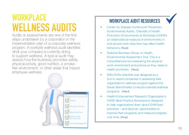 organisational wellness Organizational health assessment and workplace strategies workplace wellness promotion is important because healthy employees demonstrate increased productivity.