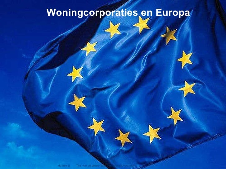 Corporaties, Europa En Staatssteun