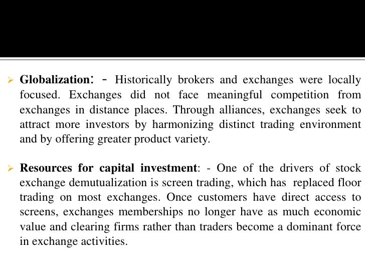 Investor's interest was ignored as brokers were manipulating the market for their own advantage