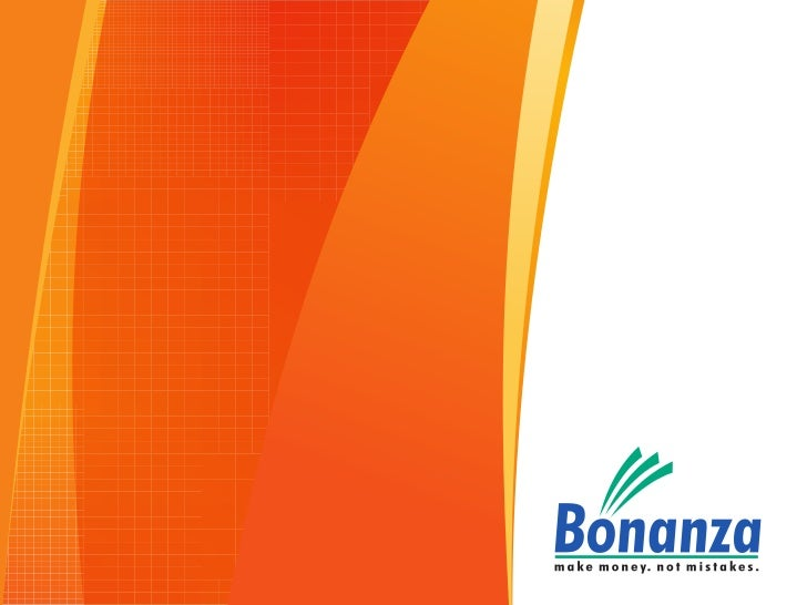 Organisation Bonanza                                      Broking                                                         ...