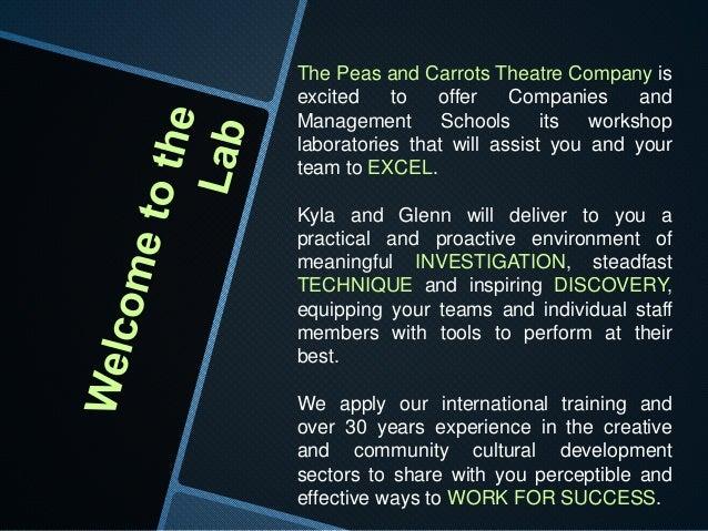 Corporate Theatre Lab Slide 2