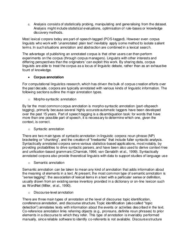 Examples Of Proposal Essays Thesis On Corpus Linguistics Essay On Corpus Linguistics Database Essay  Writing Fifa  Ea Sports Retro Essay About Good Health also Essay Writing High School Thesis On Corpus Linguistics Research Paper Example  Thesis Support Essay
