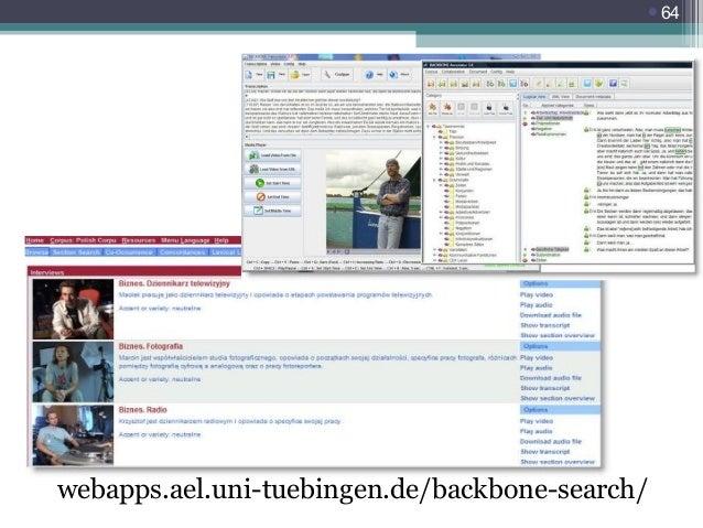 64  webapps.ael.uni-tuebingen.de/backbone-search/