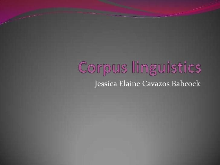 Jessica Elaine Cavazos Babcock