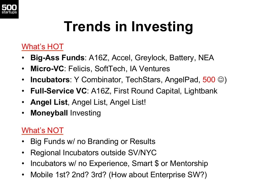 Trends in InvestingWhat's HOT• Big-Ass