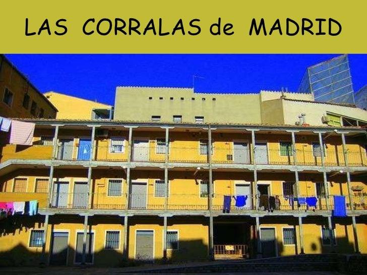 LAS  CORRALAS de  MADRID