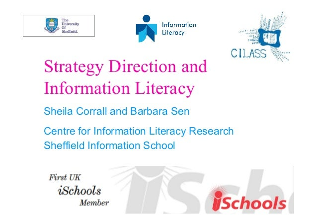 Strategy direction and information literacy: plan and improve. Tools to plan and navigate your route to your information l...