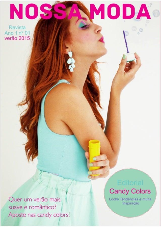 Desenvolvimento da coleção candy color