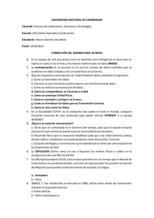 UNIVERSIDAD NACIONAL DE CHIMBORAZO Facultad: Ciencias de la Educación, Humanas y Tecnologías Escuela: Informática Aplicada...
