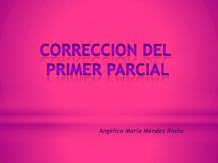 Angélica María Méndez Riaño