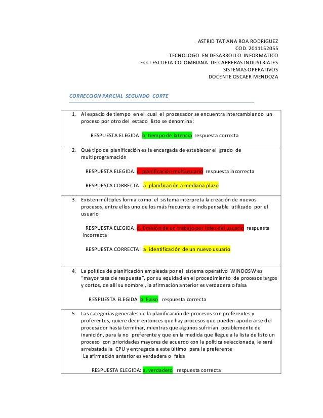 ASTRID TATIANA ROA RODRIGUEZCOD. 2011152055TECNOLOGO EN DESARROLLO INFORMATICOECCI ESCUELA COLOMBIANA DE CARRERAS INDUSTRI...