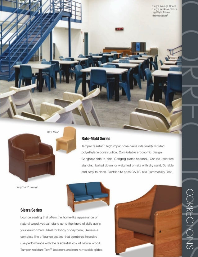 Corrections Brochure Intensive Use Furniture - Integra furniture