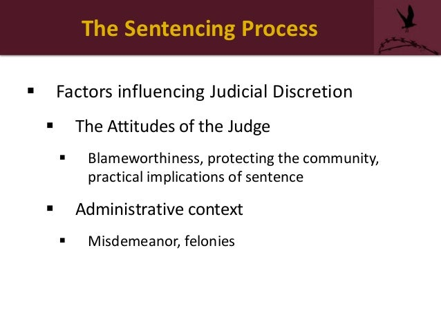 Criminal Justice Courtroom Process