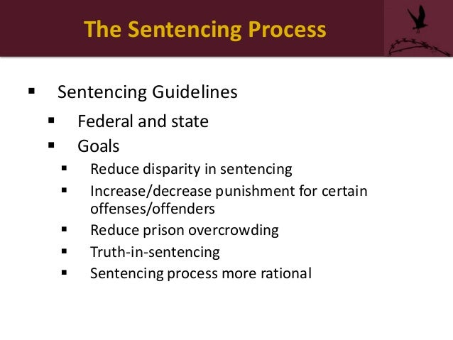 the goals of sentencing in the Probation and parole: history, goals, and decision-making over five million people are under the supervision of the criminal justice systems in the united states.