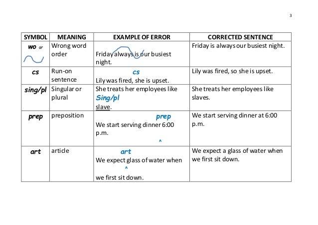 english writing correction symbols writing and editing services essay correction symbols thoughtco
