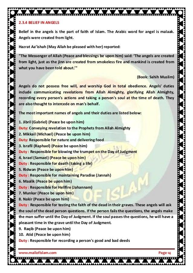 Learn Correct Islamic Faith through Mail of Islam