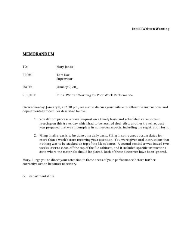 Sample Memo For Habitual Absences 6 Sample Casual Memo Letters Sample Memo  For Habitual Absences Memorandum
