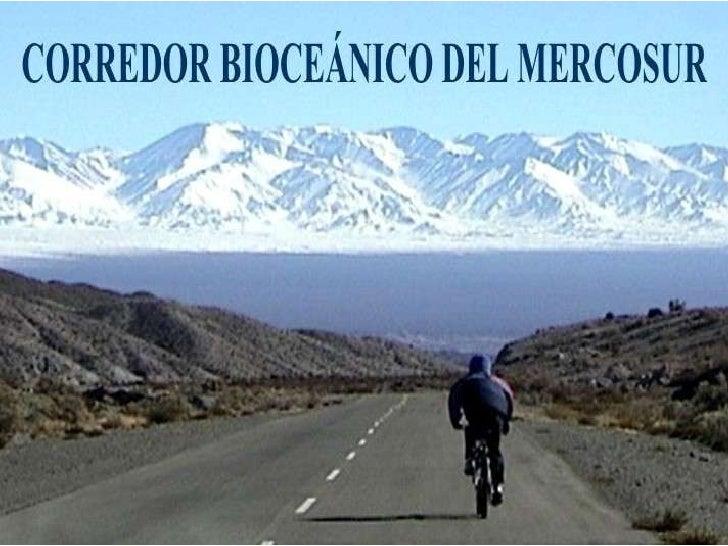 Corredor Biocéanico del Mercosur