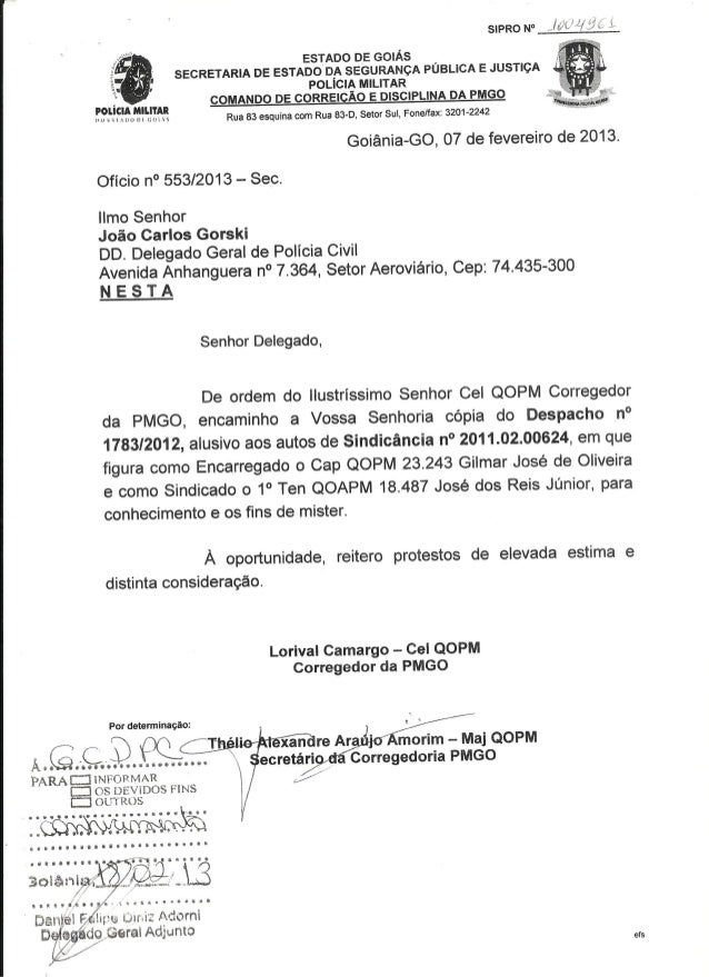 Tenente da PM de Goiás é preso por ameçar delegado de Polícia