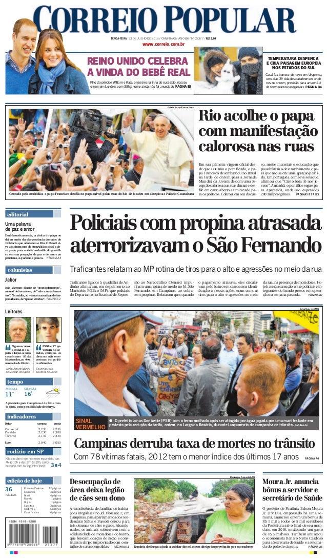 editorial O prefeito de Paulínia, Edson Moura Jr. (PMDB), empossado há uma se- mana, anunciou ontem um bônus de R$ 1 mil a...