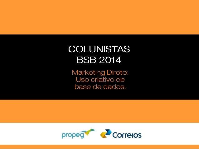Correios - Marketing Direto - Eleições