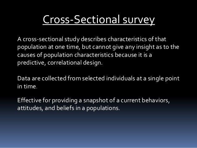 Correlational N Survey Research