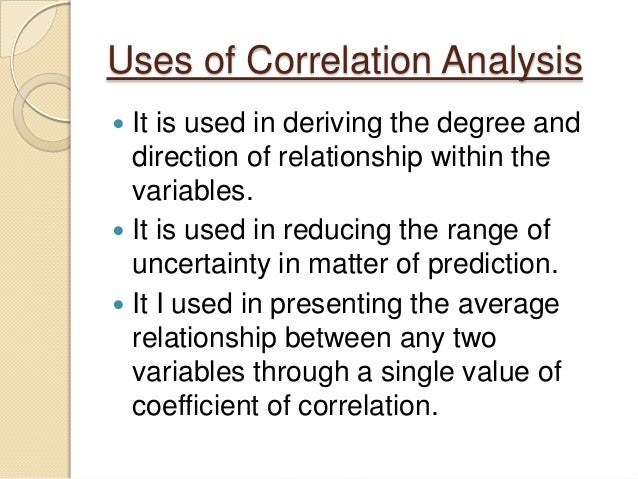 Introduction to Correlation Research | Educational ...