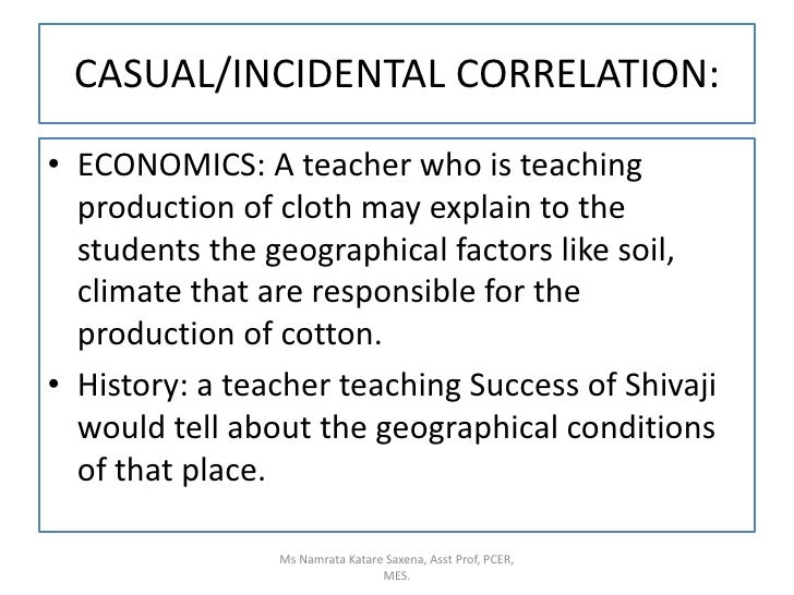 ECONOMICS: A teacher who is teaching production of cloth may explain to the students the geographical factors like soil, c...
