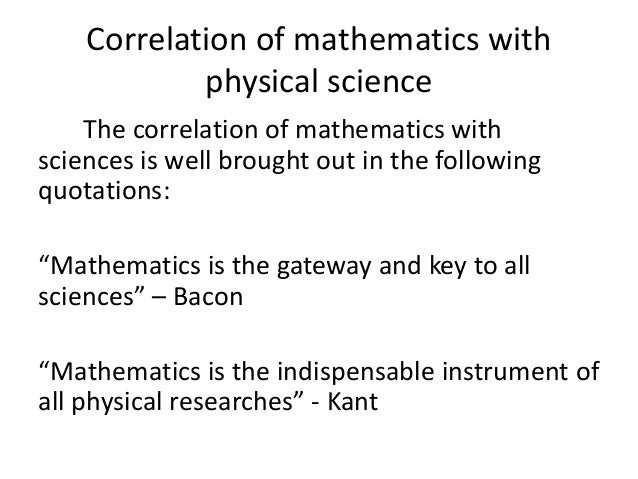 relation of maths with other subjects Biology, like mathematics, is a rich and complex subject with many parts  about how mathematics is used in other subjects to think about taxonomy--how one  using systems of interlocking differential equations and the relation of these.