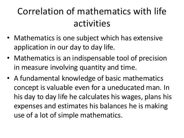 correlation of mathematics with geography