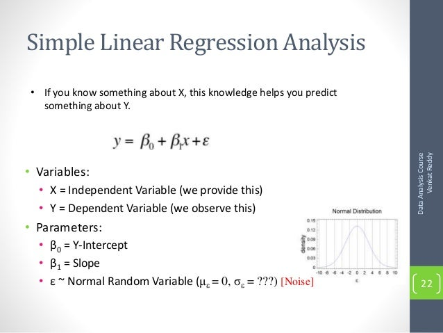 simple linear regression example pdf