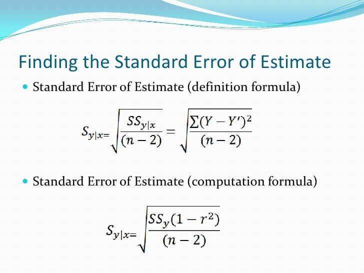 how to get standard deviation from standard error