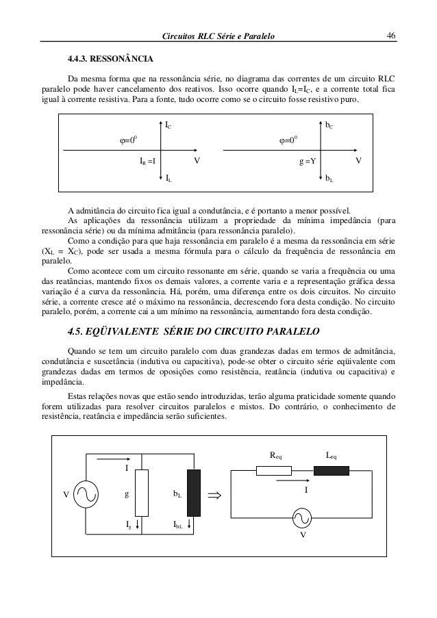 Circuito Corrente Alternada : Corrente alternada circuitos