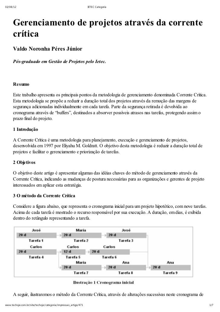 02/08/12                                                         IETEC Categoria      Gerenciamento de projetos através da...