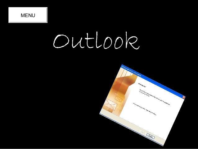 OutlookOutlook MENU