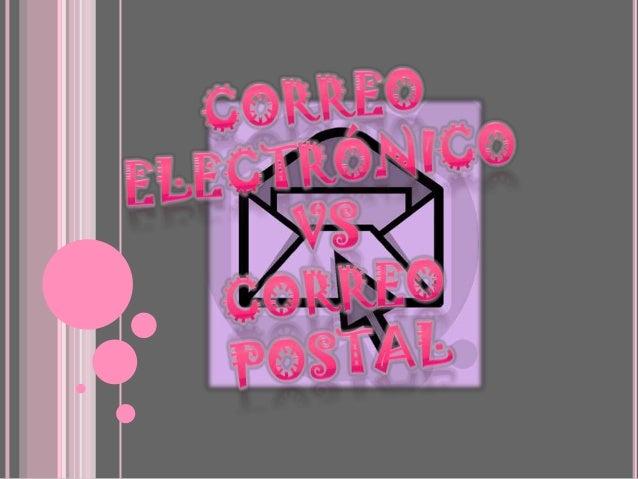 Correo elctronico vs correo postal for Correo postal mas cercano