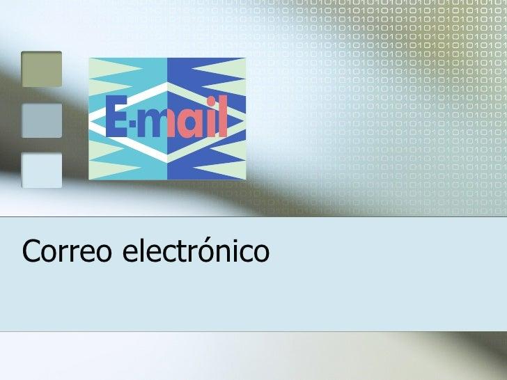 Correo electr ónico
