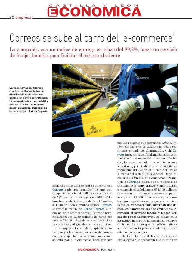 Sabía que en España se realiza un envío con Correos cada tres segundos? ¿Y que esta compañía reparte 14 millones de envíos...