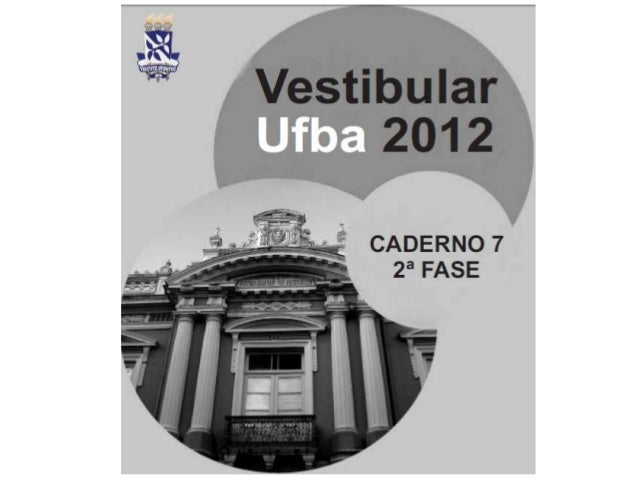 Correção ufba 2012_2º-fase