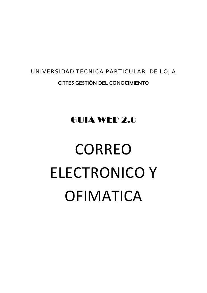 UNIVERSIDAD TÉCNICA PARTICULAR DE LOJA         CITTES GESTIÓN DEL CONOCIMIENTO             ...