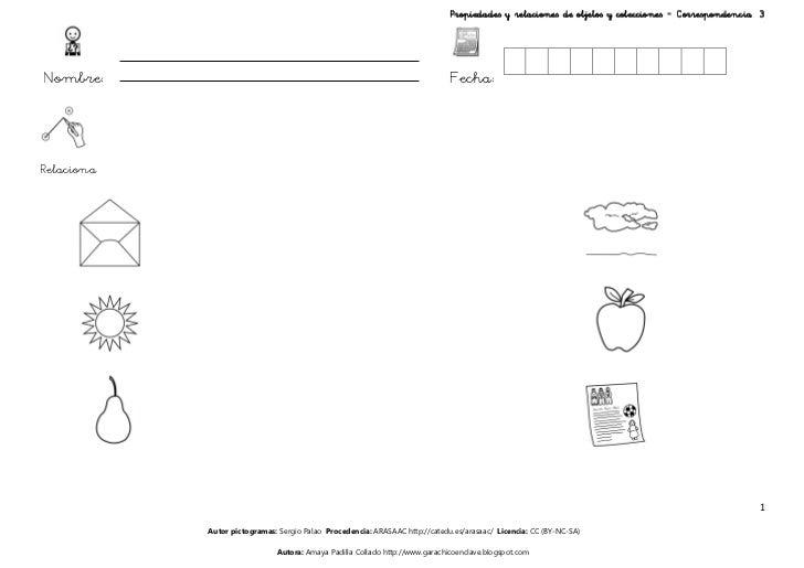 Propiedades y relaciones de objetos y colecciones – Correspondencia 3Nombre:                                              ...