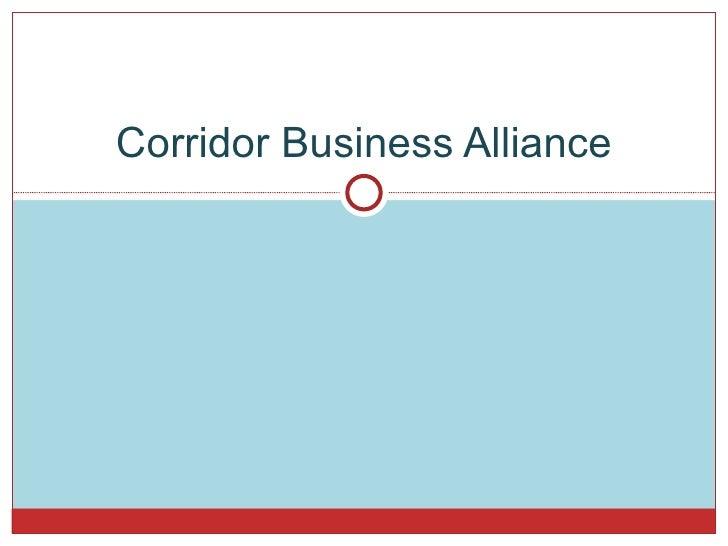 Corridor Business Alliance