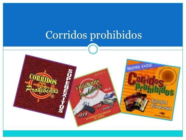 Corridos prohibidos